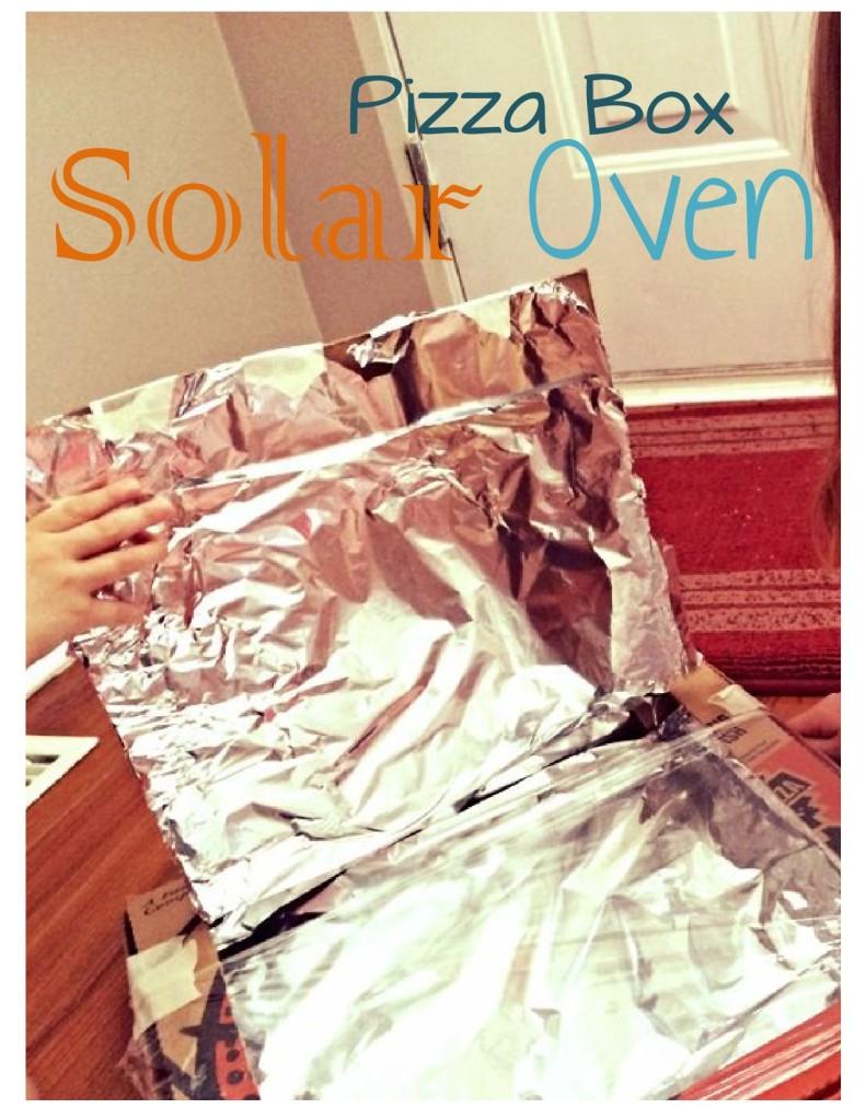 pizza box solar oven-1
