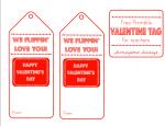 Flipper Valentine Tag